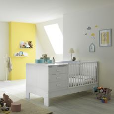 Explorer - Pali transformable cot with drawers