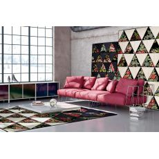 Barby - Design carpet made of wool and hemp, several sizes