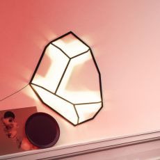 Meteor - Wall lamp, in metal, available in different sizes